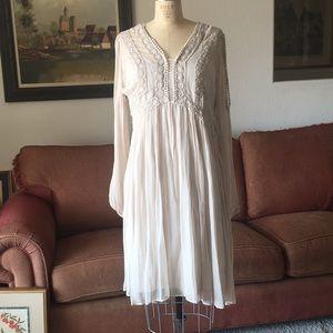 NWOT Deep cream lace dress by Sundance